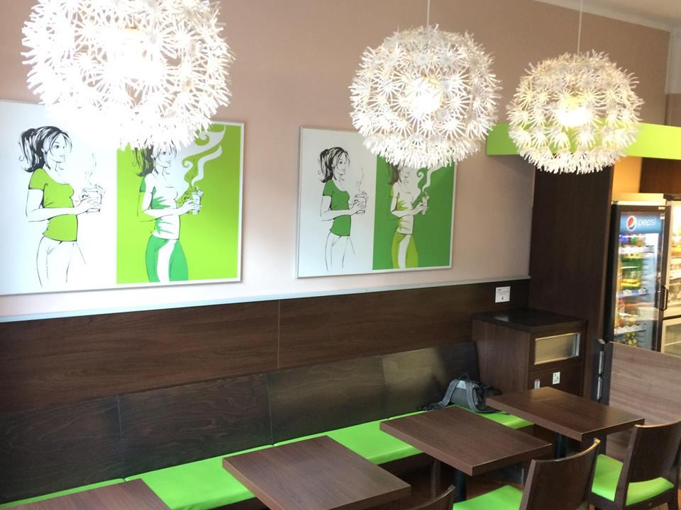 DéKáčko-příjemné a moderní prostředí kavárny a pekárny