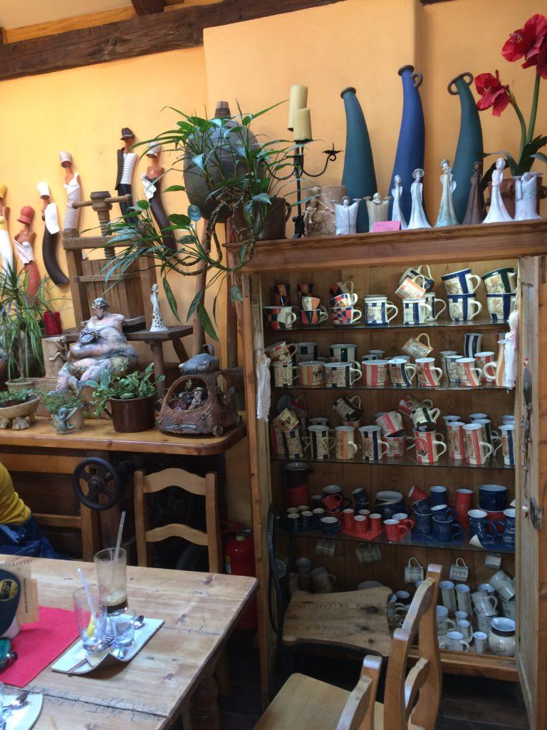 Prodejní galerie v kavárně Do Mlejna