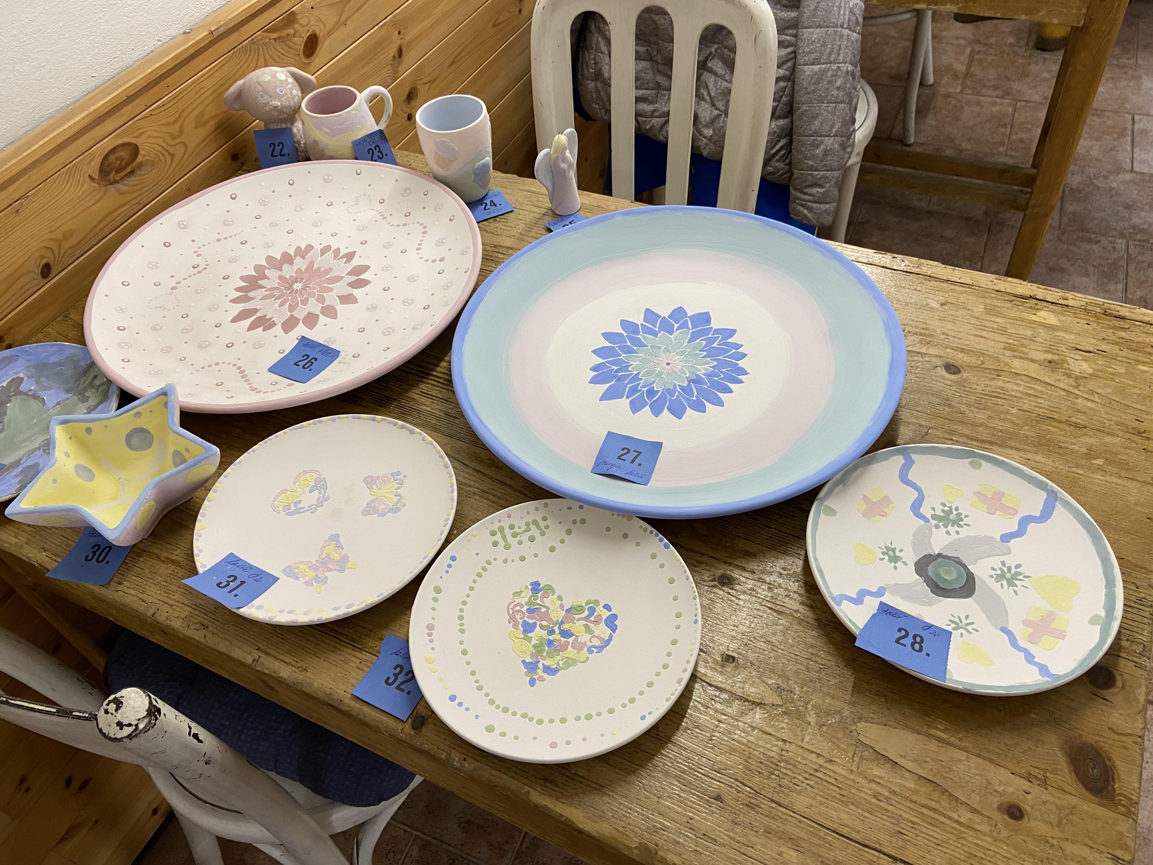 Malování na keramiku v LaDílně